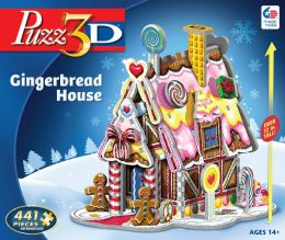 Puzz3D Gingerbread House