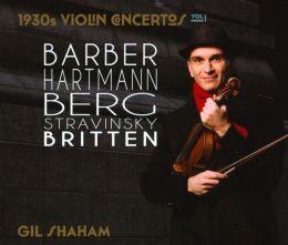 1930s Violin Concertos, Vol. 1
