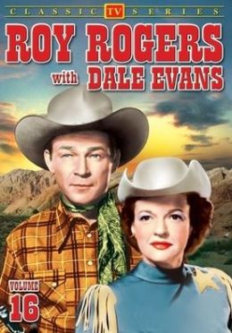Roy Rogers with Dale Evans 16 / (B&W)