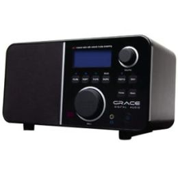 Grace Digital Innovator X GDI-IR2600 Internet Radio - Wi-Fi - Black