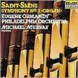 "CD Cover Image. Title: Saint-Sa�ns: Symphony No. 3 ""Organ"", Artist: Eugene Ormandy"