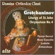 Alexander Gretchaninov: The Liturgy of St. John Chrysostom No. 4