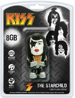 KISS 8 GB USB Flash Drive, Paul Stanley Starchild