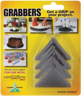 Painter's Pyramid Grabbers 4/Pkg-Black