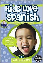 Kids Love Spanish, Vol. 1: Basic Words