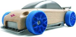 Automoblox S9-R Mini Vehicle - Blue/Silver