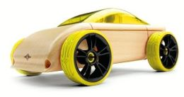 Automoblox Yellow C9 mini sportscar