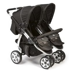2011 Valco Baby Twin Latitude EX In Licorice