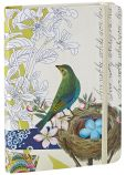 "Product Image. Title: Live Nobly Bird Bound Lined Journal 5"" x 7"""