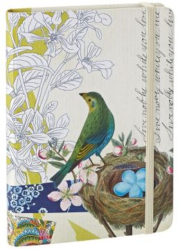 Live Nobly Bird Bound Lined Journal 5