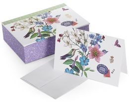 Modern Scrapbook Boxed Note Card Set of 16
