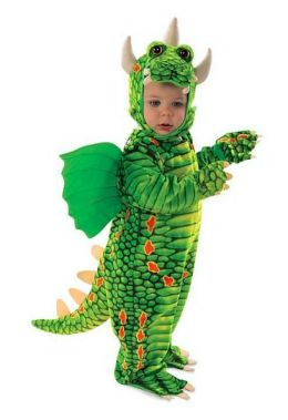 Dragon Infant/Toddler Costume: Size 4-6