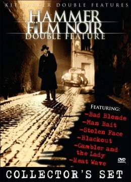 Hammer Film Noir Double Features - Vol.s 1-3 Collector's Set