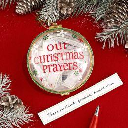 Our Christmas Prayers Ornament