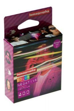 Lomography f4120c3 120 Color Negative Film 400 3-pack