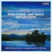 Joan Tower, Amy Beach, Arthur Foote: American Flute Quintets