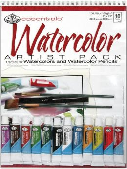 Essentials Artist Pack-Watercolor