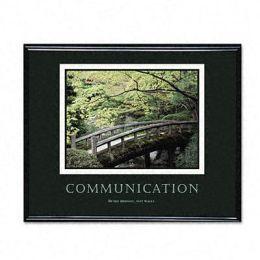 Advantus 78026 Communication Framed Motivational Print 31-1/2w x 25-1/2h