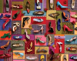 Shoes! Shoes! Shoes! 2000 Piece Jigsaw Puzzle