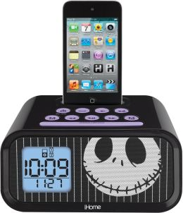 KIDdesigns DJ-H223 Jack Nightmare Alarm Clock Speaker System