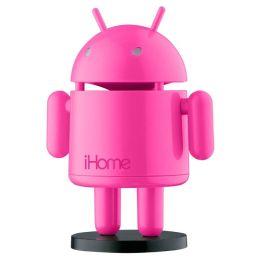 Robo Pink rechargeable speaker