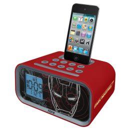 KIDdesigns MR-H22 Iron Man Alarm Clock Speaker System