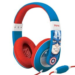KIDdesigns MC-M40 Captain America Headphones