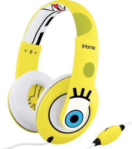 SpongeBob SB-M40 SpongeBob Over the Ear Headphones