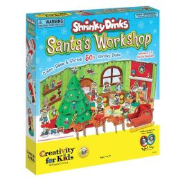 Shrinky Dinks Santas Workshop