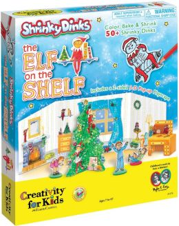 Shrinky Dinks The Elf on the Shelf