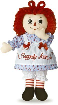 12 inch Classic Raggedy Ann Doll