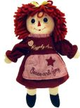 "Product Image. Title: 12"" Limited Edition Raggedy Ann Peace & Joy"