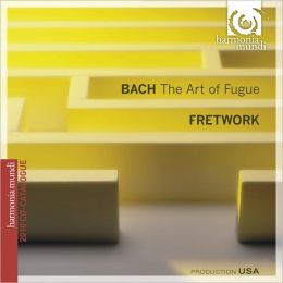 J.S. Bach: Art of the Fugue [CD+Catalogue]