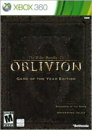 Oblivion Game of the Year Edition X360