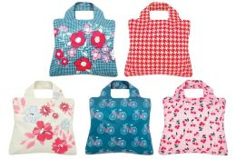 Cherry Lane Reusable Tote Bags, Set of 5
