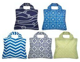 Marina Reusable Tote Bags, Set of 5