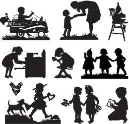 Cricut Shape Cartridge-Child's Year