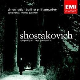 Shostakovich: Symphonies Nos. 1 & 14