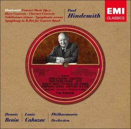 Hindemith: Concert Music; Horn Concerto; Clarinet Concerto and others