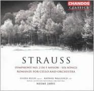 Strauss: Symphony No. 2 in F minor; Six Songs; Romanze for Cello and Orchestra