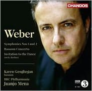 Weber: Symphonies Nos. 1 & 2;  Bassoon Concerto; Invitation to the Dance