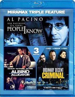 Ordinary Decent Criminal/People I Know/Albino Alligator