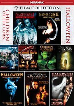 9-Film Children of the Corn/Halloween Collection