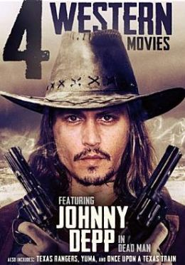 4-Movies Western: Featuring Johnny Depp in Dead Man