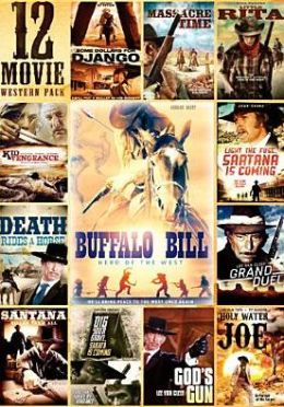 12-Movie Western Pack (3pc) / (Full Ws Slim)