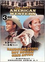 Great American Westerns: Gene Autry/Roy Rogers/Randolph Scott