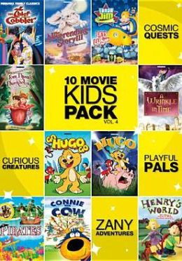 10-Movie Kids Pack 4 (2pc) / (Slim)
