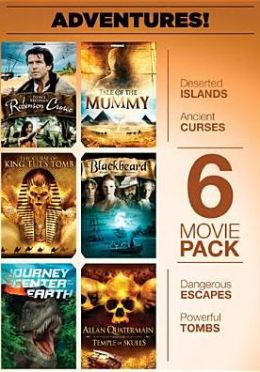 6 Movie Pack: Adventures!