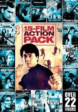 15-Film Action Pack, Vol. 1