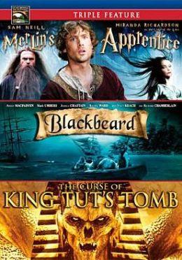 Curse of King Tut's Tomb/Merlin's Apprentice/Blackbeard